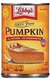 Libby's 100% Pure Pumpkin Pie & Dessert Filling (Pack of 2)