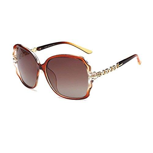 [Gray Memory Lady Polarized Fashion Gradient Elegant Top Grade Sunglasses(K4)] (Morpheus Costumes Sunglasses)