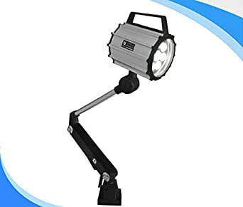 LED Machine Work Lamp 24V 9W Waterproof CNC Worklight With 100,000 Hrs