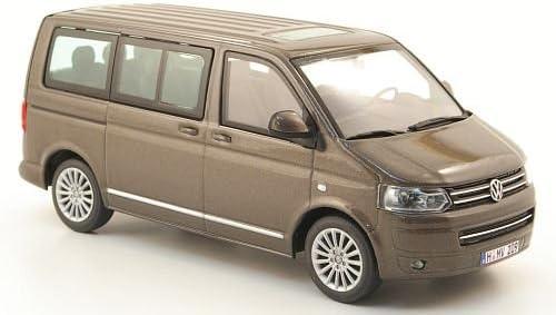 VW T5 Multivan, met.-marrón , 2009, Modelo de Auto, modello completo, Minichamps 1:43: Amazon.es: Juguetes y juegos