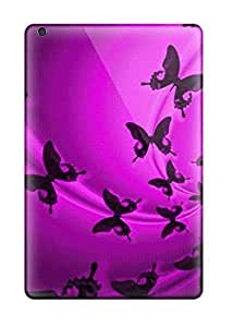 Excellent Ipad Mini/mini 2 Case Tpu Cover Back Skin Protector Butterfly