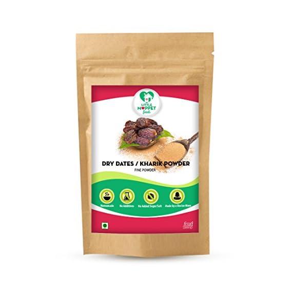 Little Moppet Foods Sun Dried Dates Powder - (200 gm)