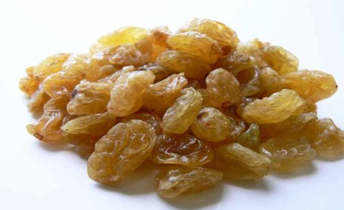 Jumbo Golden California Raisins 5 Pound Bag (Bulk)