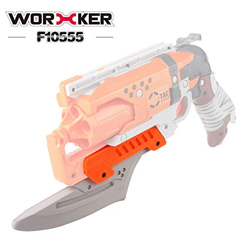 WORKER NO.217 Mod Kit for Nerf Hammershot Attachments Decor (Gray)