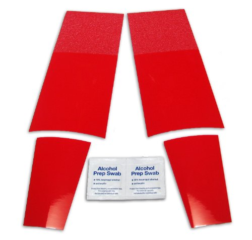 625d2ee2e1aa Galleon - 2 Pack Colored Shoe Sole Kit - DIY Red Bottom - Slip ...