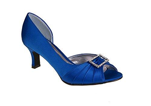 LEXUS Blue pour femme Bleu Royal Escarpins qgnwgrpUY