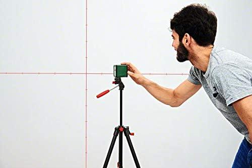 Kreuzlinienlaser mit Stativ und andere Montierungs Möglichkeiten