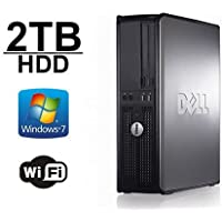 Back to School DELL Optiplex 755 Desktop Computer- New 2TB HDD- Core 2 Duo 2.66Ghz- 8GB of Memory- Windows 7 Pro- Refurbished