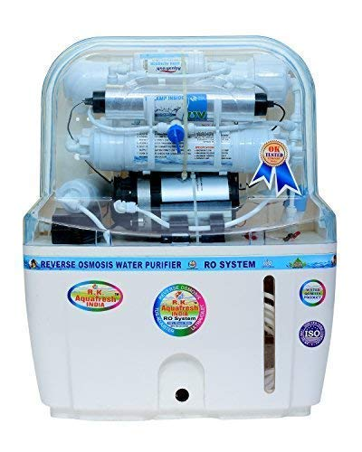 Aquafresh Swift 15 Ltr Mineral Ro+Uv+Tds Adjuster And Uf Water Purifier - White