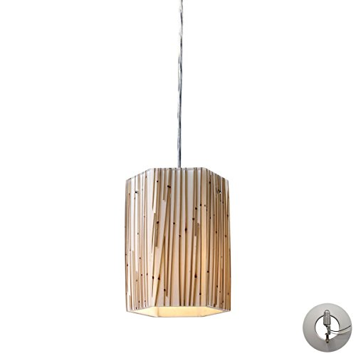 Elk Lighting 19061/1-LA Pendant Light Polished Chrome