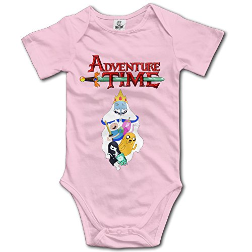 SUPMOON Adventure Time Baby Fashion Climbing Clothes Infant Rompers Pink - Adventure Time Baby Clothes