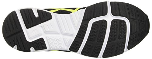 Asics Gel-Zaraca 5 Gs, Zapatillas de Entrenamiento Unisex Bebé Negro (Black / Safety Yellow / White)