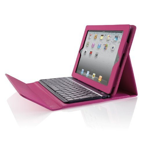Brookstone Bluetooth Keyboard for iPad 2 Pink