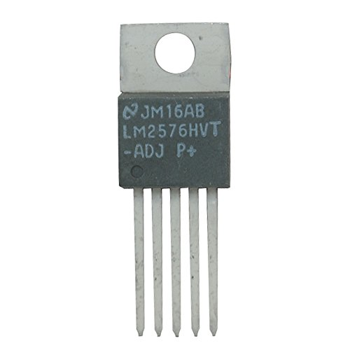 National Semiconductor LM2576HVT-ADJ Simple Switcher Voltage Regulator, Single Output in Volt, 5-Pin, 10.16 mm L x 4.7 mm W x 8.89 mm H (Pack of 2)