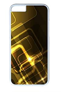 Golden Edge9 Custom ipod touch4 inch Case Cover Polycarbonate White