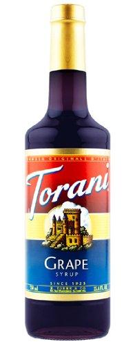 Grape Flavor Syrup - Torani Grape Syrup, 750 ml