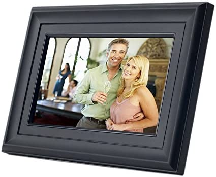 Mustek PF-A720BM 7-Inch Digital Photo Frame Black