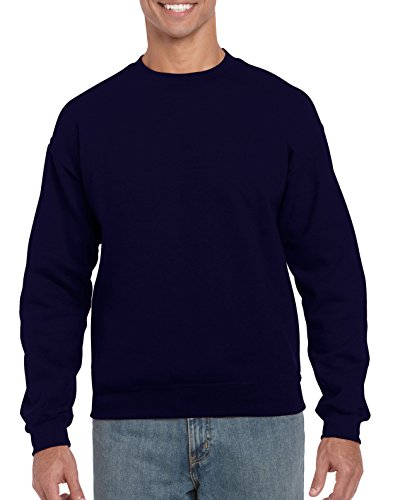Gildan Men's Heavy Blend Crewneck Sweatshirt - Large - Navy ()