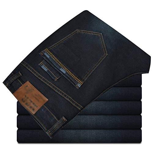 Confortevoli Denim Pantaloni In Wild Dritti Guys Jeans Stretch Uomo E lannister Ssig Ragazzo Fat Larghi Blackblau Qk Zq7OT