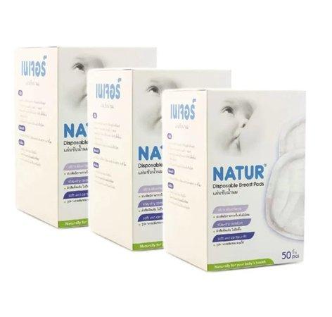 Natur Disposable Breast Pads 50 pieces (three (Votive Shield)