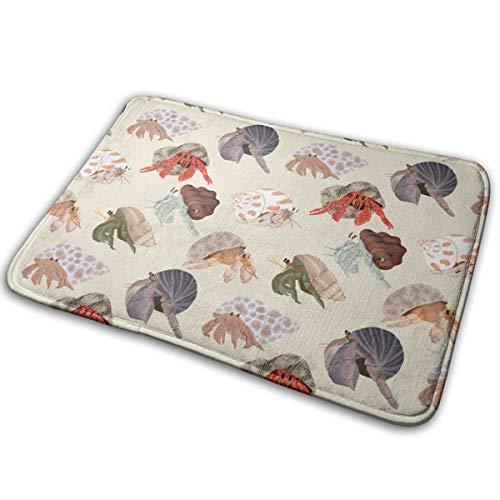 (Mascin Doormat Custom Entrance Non Slip Hermit Crabs_1728 Door Mat Indoor/Outdoor 16 x 24 Inch,40 cm x 60 cm)