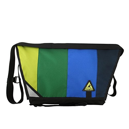 Green Guru Gear Pedaler Bike Messenger Multicolor 17-Liter [並行輸入品] B0784H5DQM