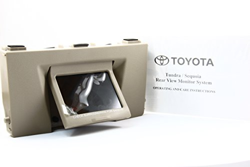 new-07-08-09-toyota-oem-genuine-sequoia-tundra-rear-view-back-up-monitor-only-beige-color