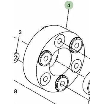 Amazon Com John Deere Original Equipment Spacer Am117829 Automotive