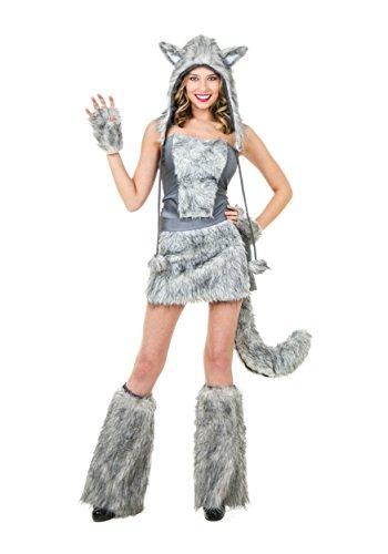 Fun Costumes Sexy Wolf Costume X-small (Sexy Wolf Woman Costume)