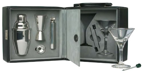Franmara Martini Travel Bar Set with Case by Franmara