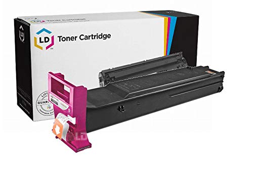 LD Compatible Toner Cartridge Replacement for Konica Minolta MagiColor 5500 5600 Series A06V333 (Magenta) (Konica Minolta 5500)