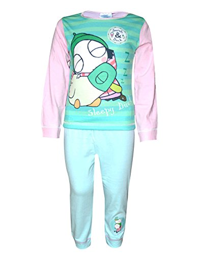 Girls Official Licensed Sarah & Duck Pajamas Age 1 to 5 Years -