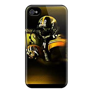 New Snap-on GAwilliam Skin Case Cover Compatible With Iphone 4/4s- Pittsburgh Steelers