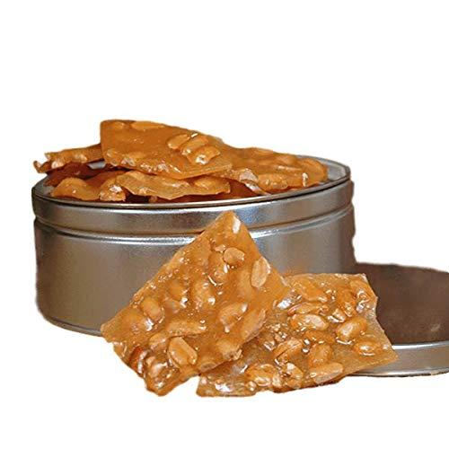 Savannah Candy Kitchen   Handmade Gourmet Peanut Brittle Candy Gift Tin