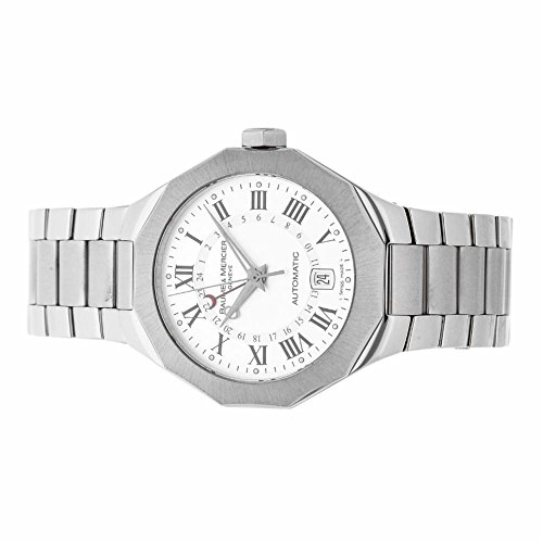 Baume-Mercier-Riviera-automatic-self-wind-mens-Watch-MOA08670-Certified-Pre-owned