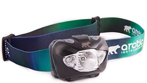 AURORA LED Stirnlampe.Super helle CREE LED.Ideal für Wandern, Laufen, Lesen, Gartenarbeit, Camping, Bergsteigen, Radfahren, DIY, Angeln, Jagenund andereAktivitäten im Haus oder draußen