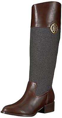 Tommy Hilfiger Women's MADELEN Equestrian Boot