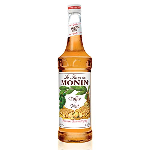(Monin - Toffee Nut Syrup, Bold and Buttery, Great for Coffee and Desserts, Gluten-Free, Vegan, Non-GMO (750 ml) )