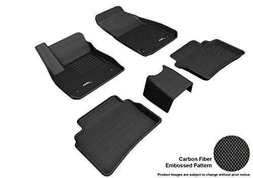 Buick Regal Black Carpet - 3D MAXpider L1BC03901509 Custom Fit All-Weather Kagu Series Floor Mats Black Complete Set for Buick Regal