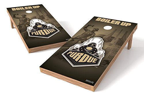 Set Boilermaker College (PROLINE NCAA College 2' x 4' Purdue Boilermakers Cornhole Board Set - Wild)
