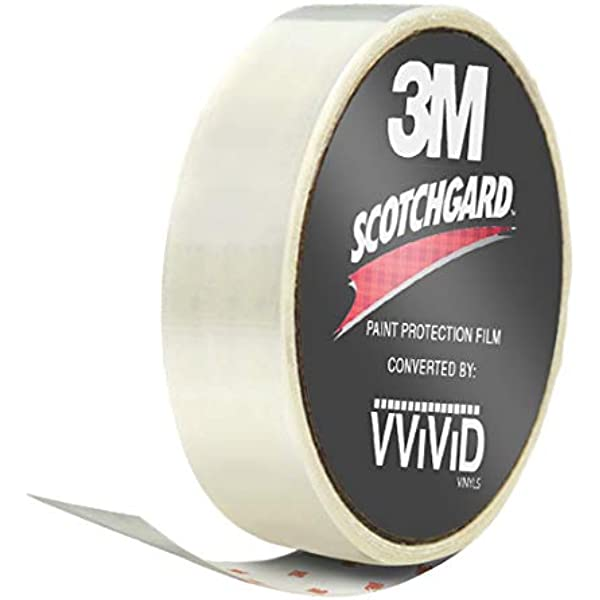 """3M Clear Protective Vinyl Film Sheet 2/"""" x 60/"""" Invisible Gloss Top Coat DIY Roll"""
