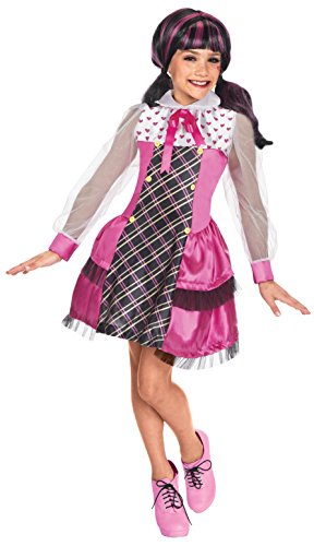 [Rubie's Costume Monster High Draculaura Child Costume, Large] (Draculaura Kids Costumes)