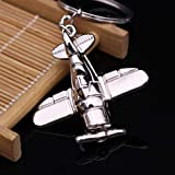 Vosarea Combat Aircraft Model Keyring Keychain