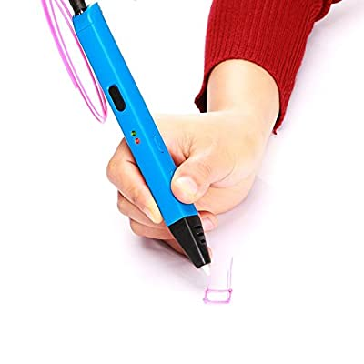 Soyan Professional 3D Pen Lite Edition, With ABS Filament Sample and Drawing templates