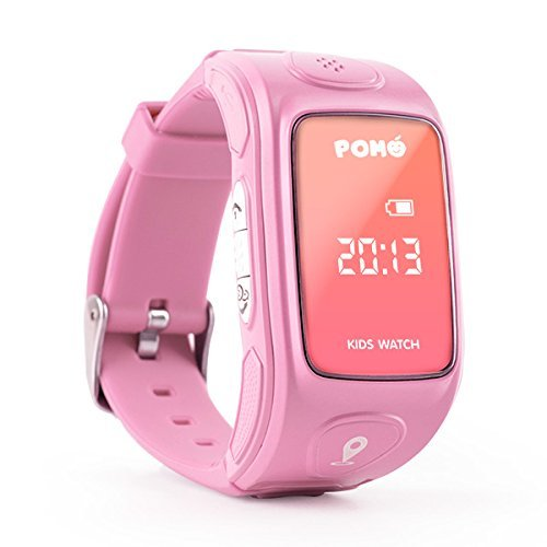 pomo-kidswatch-lady-pink-smart-phone-watch-parenting-tools-w-smart-locator-accident-report-intelling