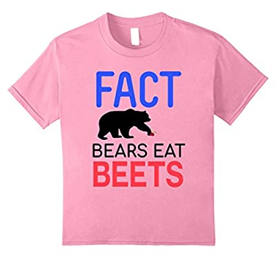 FACT Bears Eat Beets T-Shirt Funny Men Women Novelty Gift
