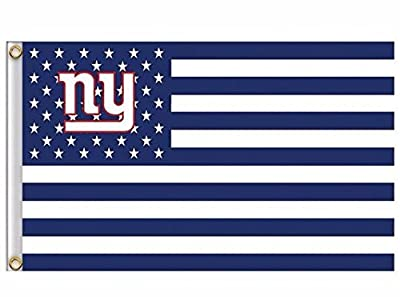 NFL New York Giants Stars and Stripes Flag Banner - 3X5 FT - USA FLAG