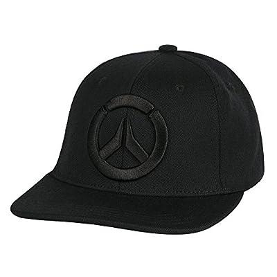 JINX Overwatch Blackout Snapback Baseball Hat (Black, One Size) by JINX