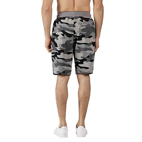Extreme Pop UK Hommes Short Camo Terry Army Combat Pantalon Court de Football Sportif Grande Vente la Semaine dernière 3