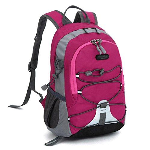 Outdoor Backpack,Clearance! AgrinTol Children Boys Girls Waterproof Bookbag School Bag Trekking (Hot Pink, As Show) -